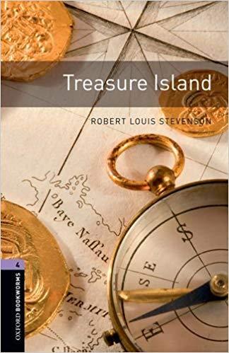 Easy English books to learn English:  Treasure Island