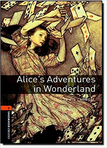 Easy English books to learn English: Alice's adventures in wonderland.