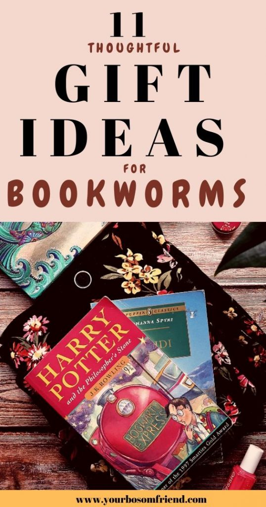 11 Thoughtful gift ideas for bookworms in your life
