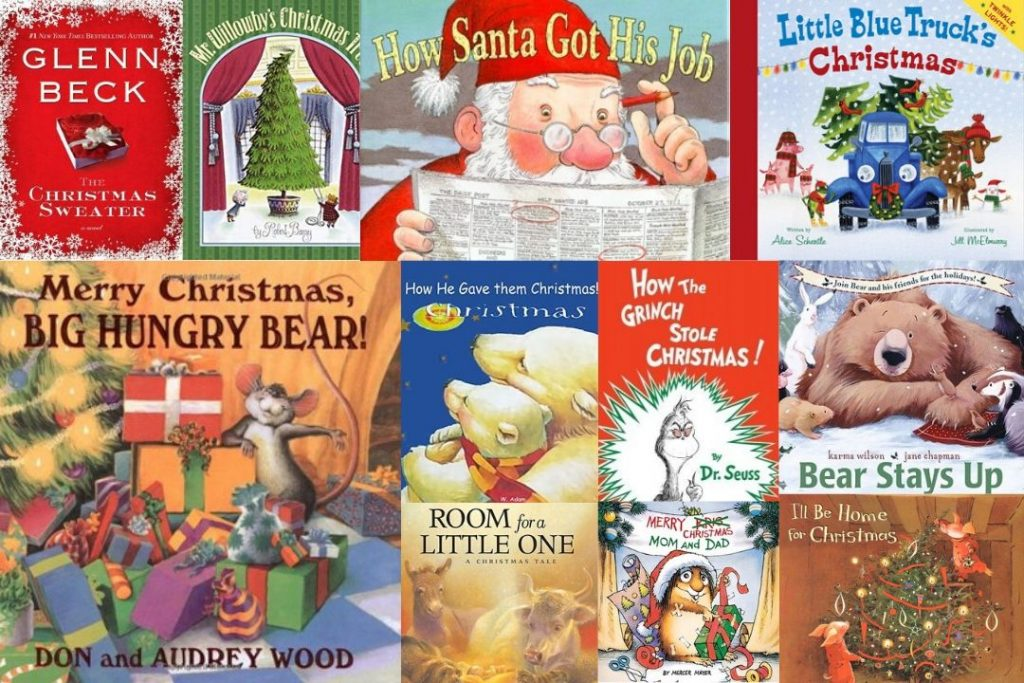 17 of The Most Popular Christmas Books For Your Kids