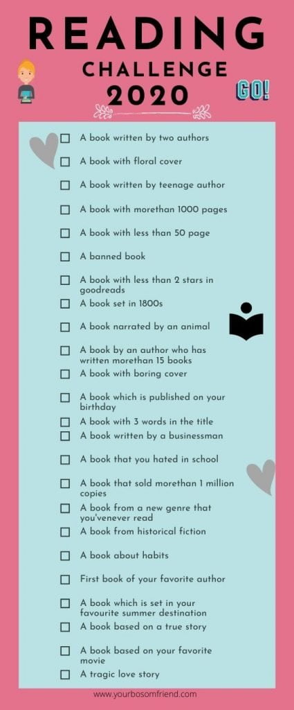 28 Tips To Help You Become A Bookworm in 2020!