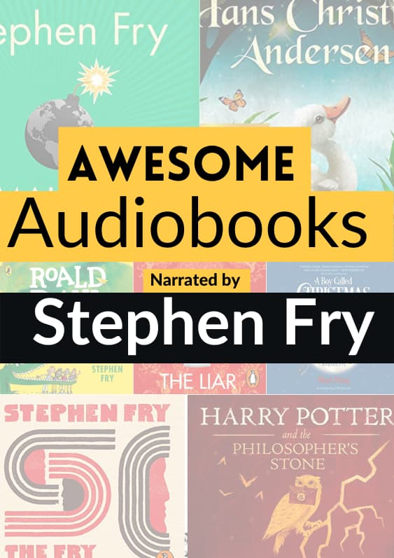 audiobooks narrated by Stephen Fry